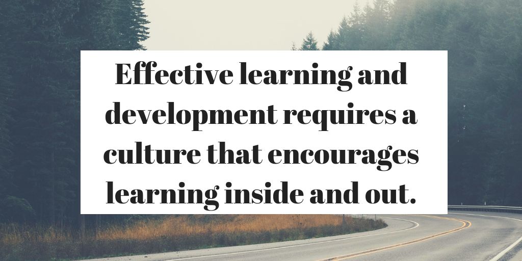 Create a culture of learning